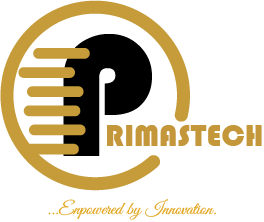 primastech Logo with caption